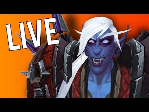 REAL LIFE KUL TIRAN PLAYS WOW - WoW: Battle For Azeroth (Livestream)