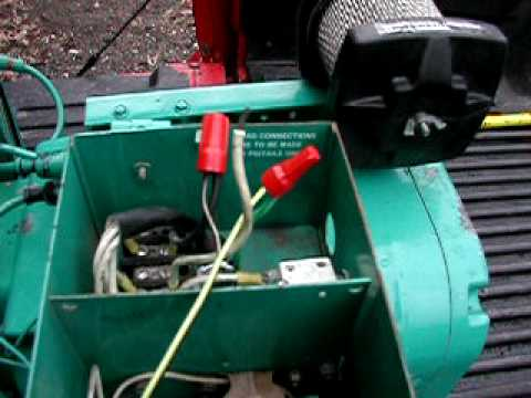 Onan 40 Rv Genset Generator  YouTube
