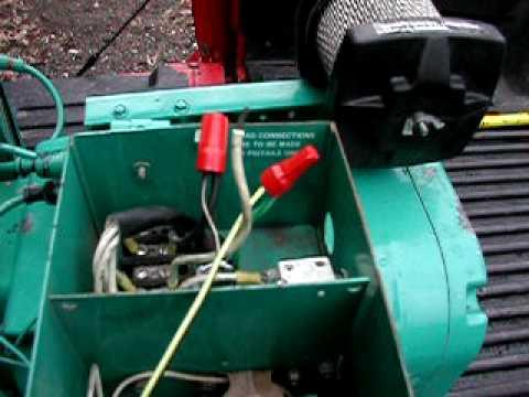 Onan 40 Rv Genset Generator - YouTube