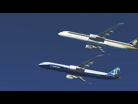 First Flight of Singaporean 787-10 | Infinite Flight Global film