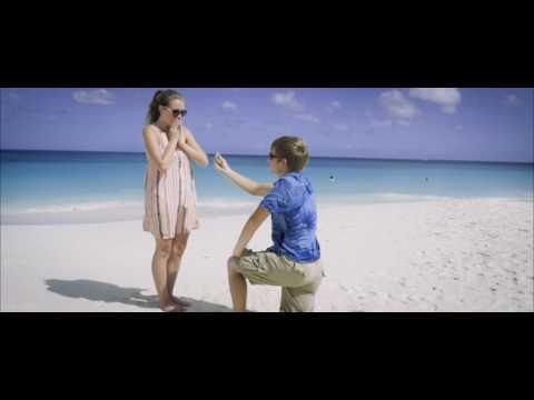 Aruba beach drone proposal