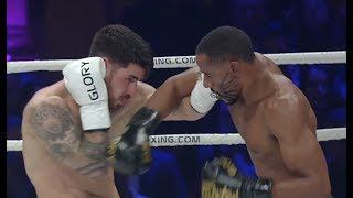 Undefeated in GLORY, Omari Boyd calls for