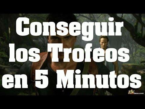 Trucos de Uncharted 4 - Como conseguir trofeos Aplastante y Contrarreloj en 5 minutos