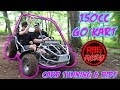 150cc Go Kart Carburetor Tuning & Ride