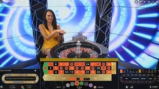 Live Dealer Double Ball Roulette 1300 to 1 Jackpot?