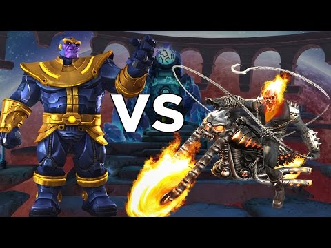 ghost rider vs thanos epic duels marvel contest of champions frmovies. Black Bedroom Furniture Sets. Home Design Ideas
