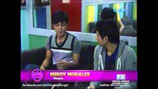 Inside Protege: Mentor Jolina Magdangal, Mikoy & Jeric getting to know each other