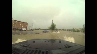 Driving through Aurora CO (flood of the century)