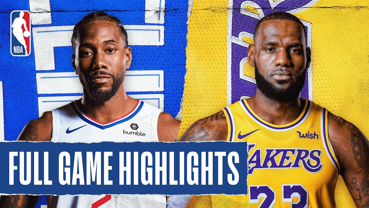 CLIPPERS at LAKERS   FULL GAME HIGHLIGHTS   July 30, 2020