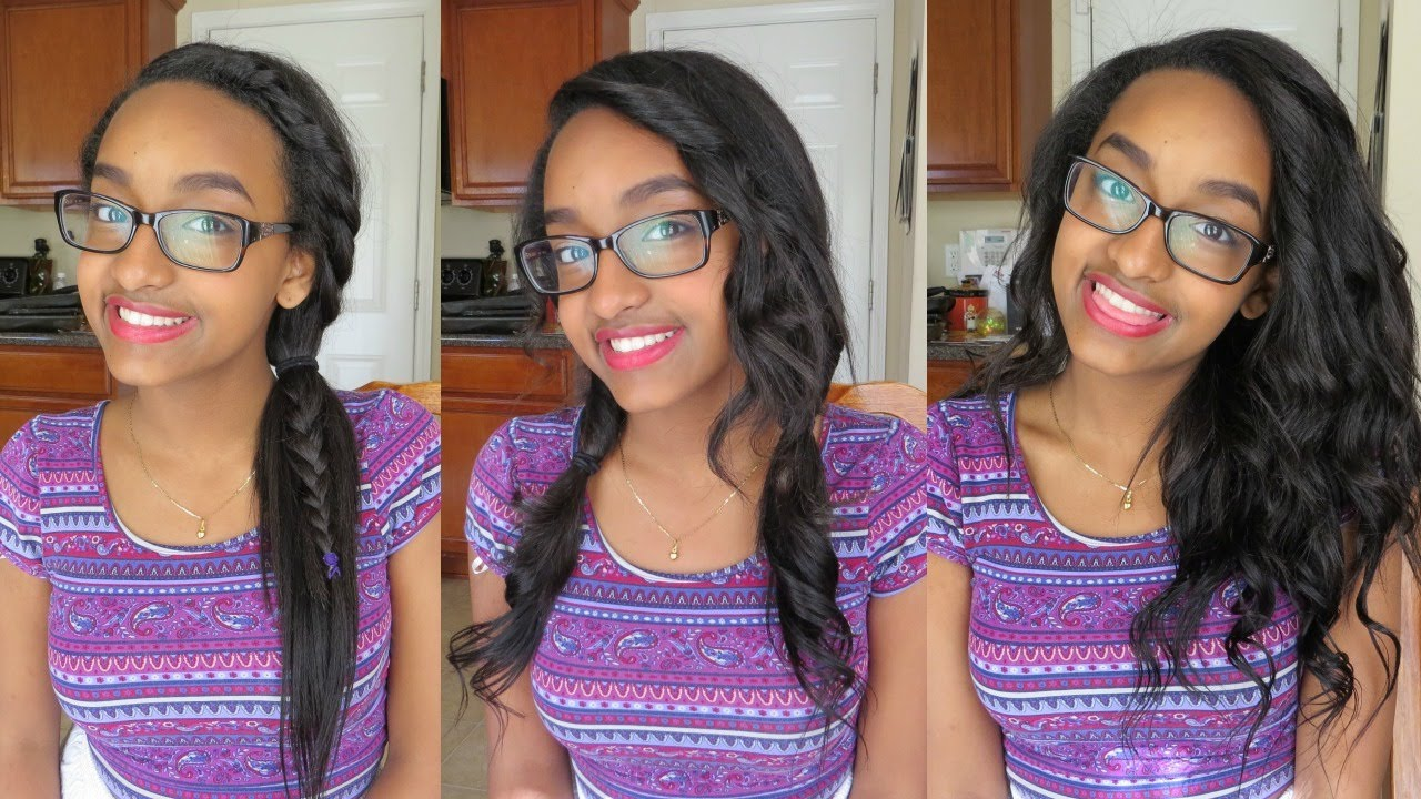 cute & easy hairstyles with abhair