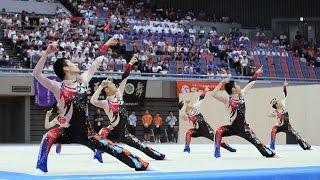 【踊ってみた】鹿児島実業高校男子新体操部がインターハイで披露した「妖怪ウォッチ」演技がキレッキレ