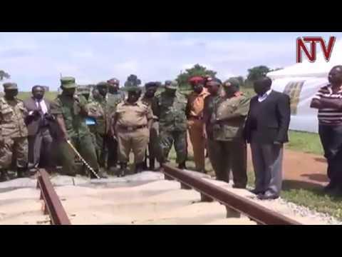 Maj. Gen. Elwelu asks Ugandans to be patient with government over Standard Gauge Railwa