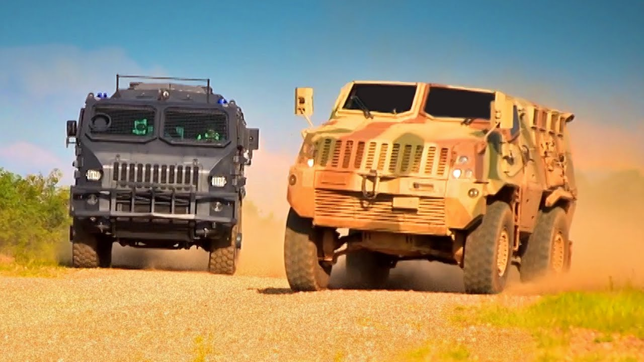 Armoured Vehicle Race - Fifth Gear