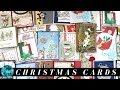 Over 17 Christmas Card Ideas from my Christmas 2018 Card Swap
