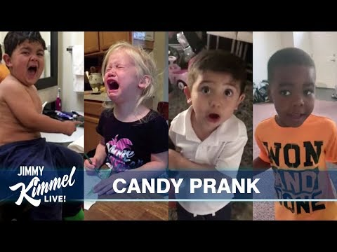 Ashley Nics - Jimmy Kimmel I Ate My Kids Candy Is My Favorite!