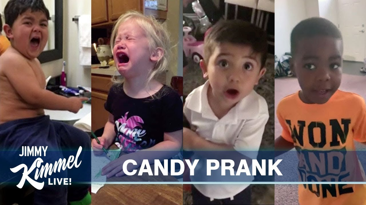 We Ate Your Halloween Candy 2020 Jimmy Kimmel's Favorite Halloween Candy Kids   YouTube