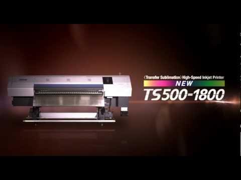 Dye-Sublimation Inkjet Printer   TS500-1800   Mimaki USA