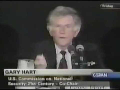 CSPAN - Gart Hart calls for the use of 9/11 to carry out a New World Order