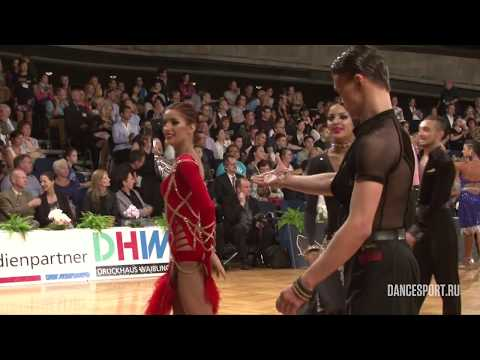 Victor Bychkov - Alina Atamanchuk, RUS, 1/4 Cha-Cha-Cha