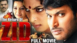 The Return of Zid Full Hindi Dubbed Movie | Vishal | Reema Sen | Action Movies | Mango Indian Films