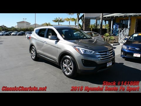 Used 2015 Hyundai Sante Fe For Sale at Classic Chariots in Vista - Stock #14198R