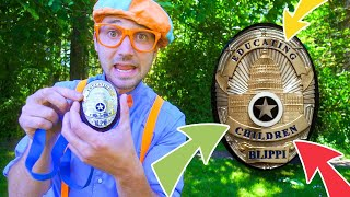 Blippi is a Police Man | Police Videos For Kids | Blippi Full Episodes | Educational Videos For Kids
