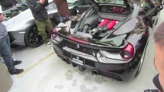 Sound comparison: Ferrari 488 GTB (modified) vs. Ferrari 458 Italia (stock)