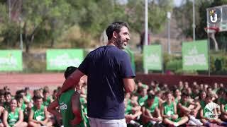 Campus Fundación Unicaja Baloncesto 2019 T1: Berni Rodríguez