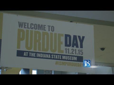 The Indiana State Museum hosted the very first Purdue Day