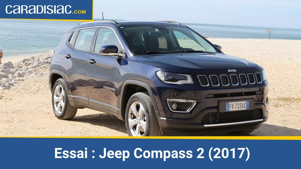 essai jeep compass 2 2017 d boussol youtube. Black Bedroom Furniture Sets. Home Design Ideas