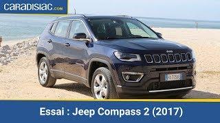 Essai - Jeep Compass 2 (2017) : déboussolé