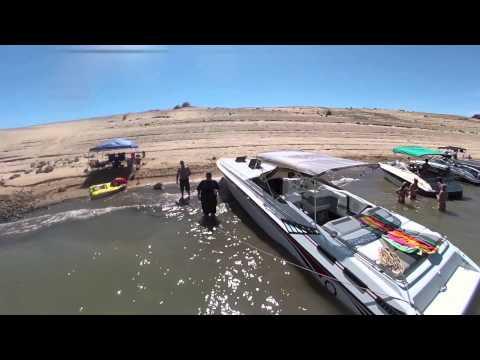 06-14-14 Lake Mead Sandy Cove Saturday.