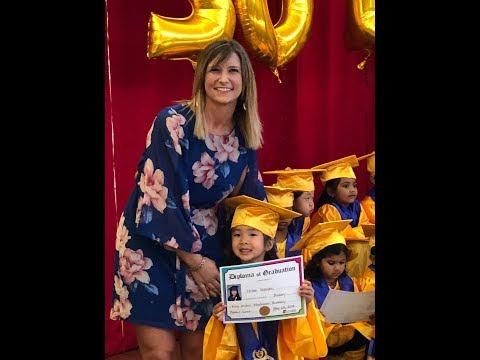 Chloe's Graduation, King Arthur Montessori Academy