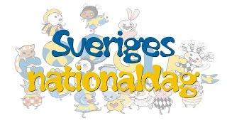 Sveriges nationaldag 📆 6 juni 2015 👉 Google Doodle