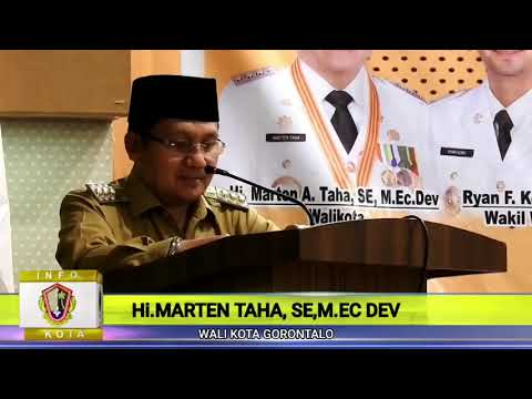 Wali Kota Gorontalo Membuka Kegiatan Sosialisasi Pemanfaatan Alat Perekam Transaksi Electronic