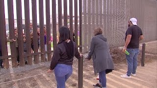 Families divided by U.S.-Mexico border reunite at San Diego's 'Friendship Park'