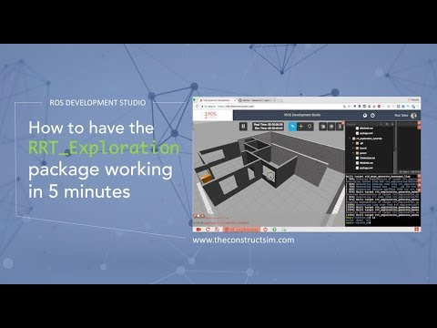 [ROS Q&A] 037 - How to have the RRT Exploration package working in 5  minutes (or less)