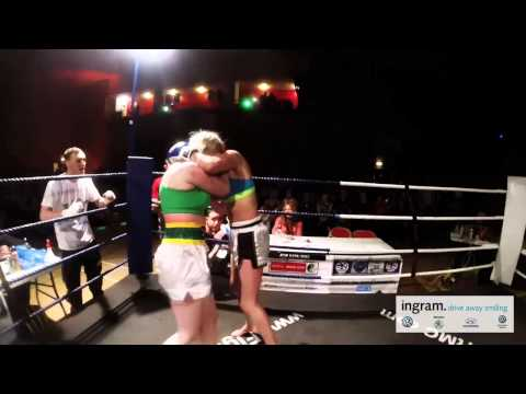 Martial Mayhem - Fight 5 - Kerry McLean V Jenna Ross