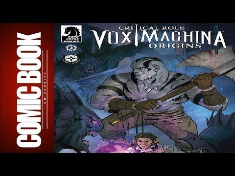 Critical Role Vox Machina Origins #2 | COMIC BOOK UNIVERSITY