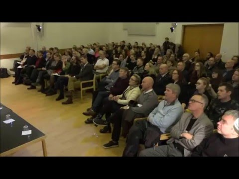"Knut Storberget in Iceland: ""Rehabilitation over retribution?"""