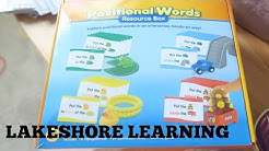 POSITIONAL WORDS RESOURCE BOX| LAKESHORE LEARNING