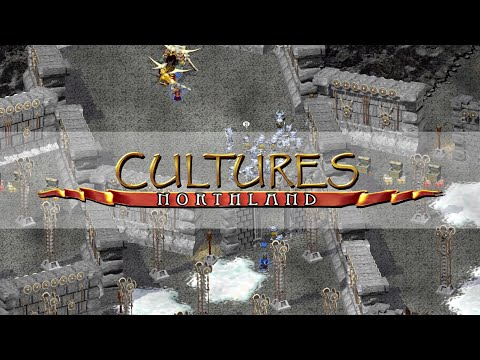 Cultures: Reise nach Nordland #08 - Asgard [Gameplay Longplay Playthrough] |