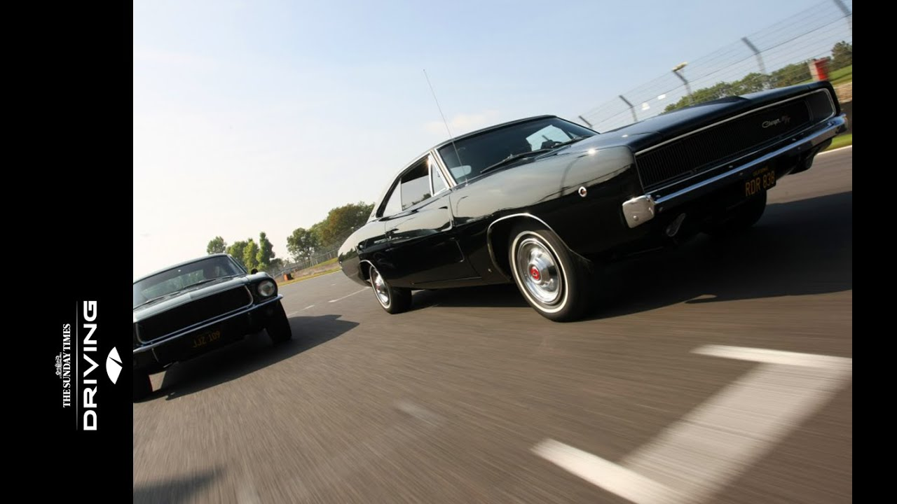 Faster than Bullitt: 1968 Ford Mustang vs 1968 Dodge Charger