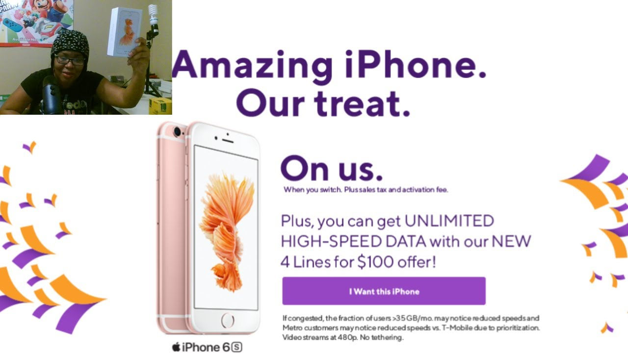 Free iPhone 6S or iPhone SE From Metro Pcs -T-Mobile