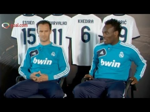 Life at Real Madrid - Essien, Carvalho, Modric and Khedira interview