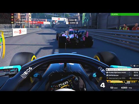 LE LAST TO FIRST A MONACO ? - F1 2020 Coop #7 ft @lucasbdr24
