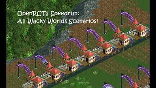 openrct2 park showcase splash valley