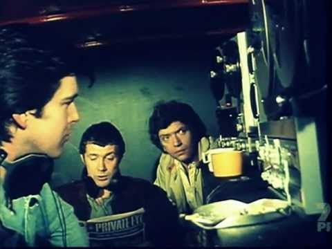 Pierce Brosnan & Walter Gotell in (The Professionals)