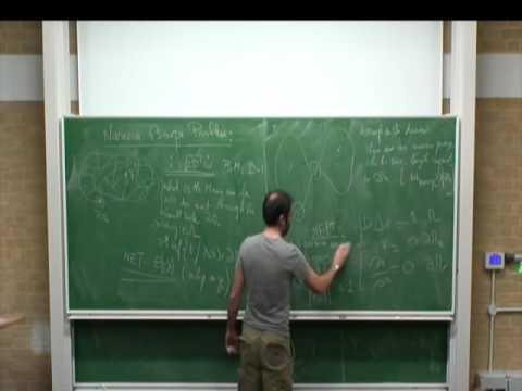 Cambridge short lecture 18 - Narrow escape: asymptotics, Green's function method in dimension 2
