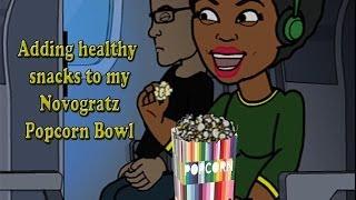 """""""adding Healthy Snacks To My Novogratz Popcorn Bowl"""" -  Day 21 Of 35 Until Summer Vlog"""